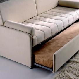 Divano letto con letto estraibile clochard di hoppl for Costo divano letto
