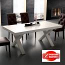 Tavolo Galileo 703 di Laseggiola rettangolare allungabile