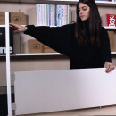 scrivania pieghevole