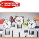 orologio su tela PINTDECOR 3 fusi orari