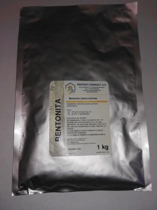 Poze Bentonita sodica , 1kg