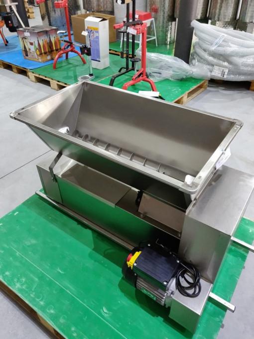 Poze Zdrobitor-desciorchinator electric ENO 15 Inox, 750 W, 1600-1800 kg/h