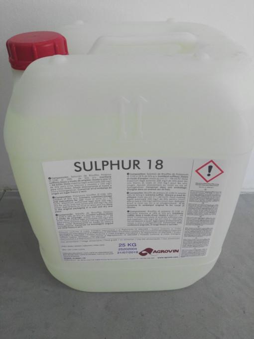 Poze Sulphur 18, bidon 25 kg
