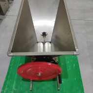 Zdrobitor-desciorchinator manual ENO 3 Inox, 1000 kg/h