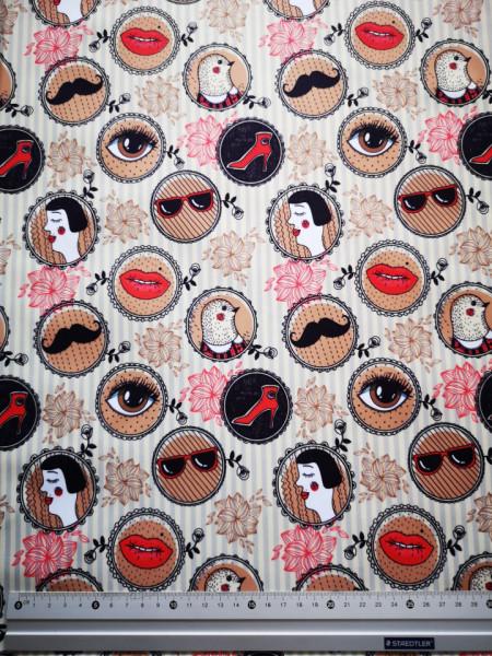 Retro material PUL pentru scutece textile moderne