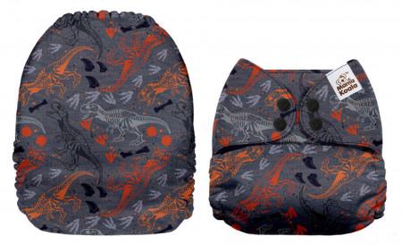 Dinoszauruszok MamaKoala pelenka (széles nyílású zsebbel)