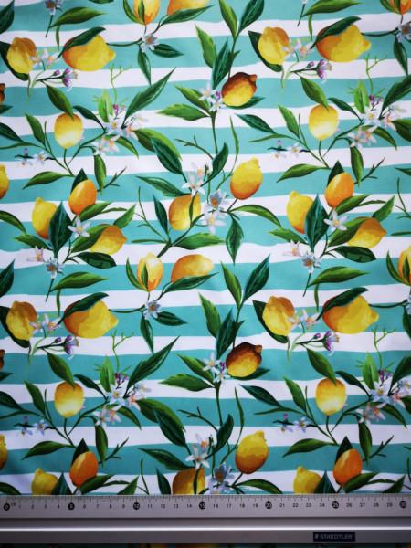 Ha az élet citromot ad PUL anyag modern mosható pelenka készítéséhez