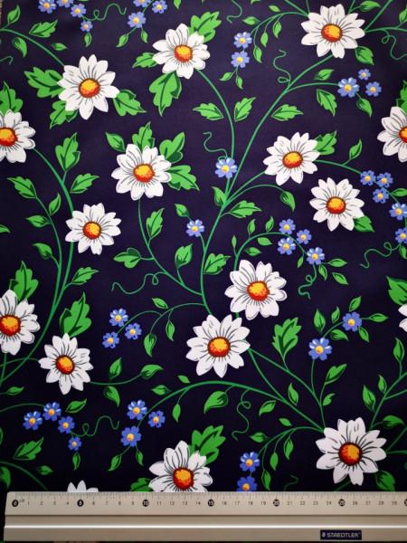 Margareta si floare de nu-ma-uitamaterial PUL pentru scutece textile moderne
