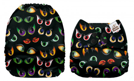 Szőrnyű szemek Mama Koala pelenka (széles nyílású zsebbel)