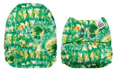 Tie dye MamaKoala pelenka (széles nyílású zsebbel)