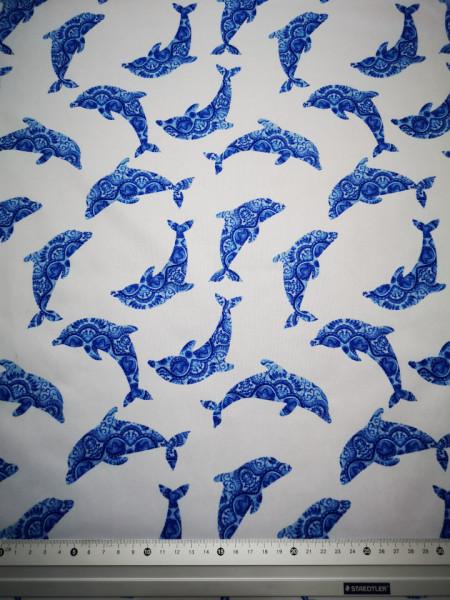 Delfinek PUL anyag modern mosható pelenka készítéséhez