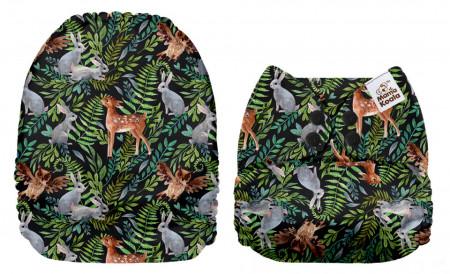 Erdőlakók MamaKoala pelenka (széles nyílású zsebbel)