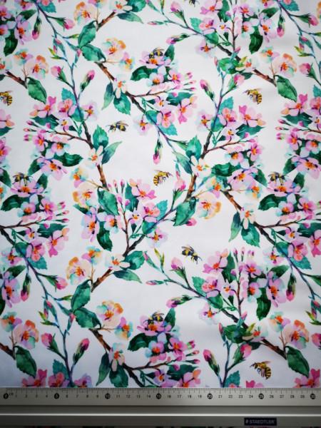 Flori de cires material PUL pentru scutece textile moderne