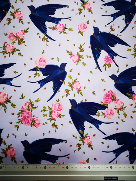 Randunica material PUL pentru scutece textile moderne