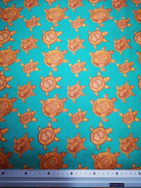 Broaste testoase aurii material PUL pentru scutece textile moderne