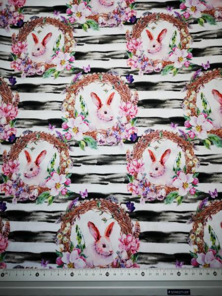 Iepuras-dragalas material PUL pentru scutece textile moderne