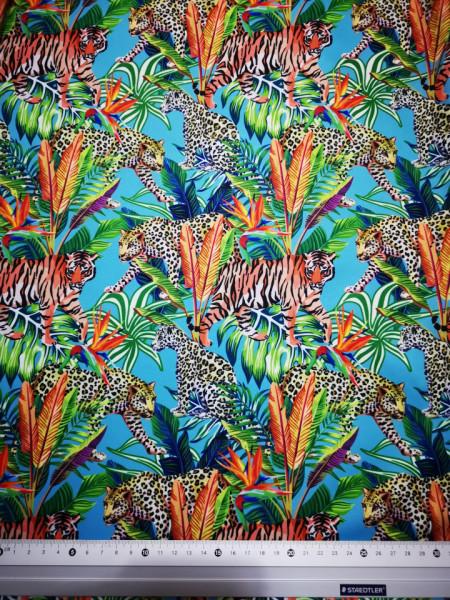 Padure exotica material PUL pentru scutece textile moderne