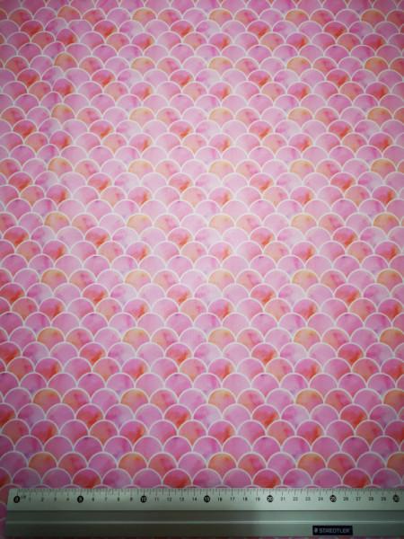 Solzi de culoarea somonului material PUL pentru scutece textile moderne