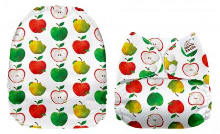 Lédús almák MamaKoala pelenka (széles nyílású zsebbel)