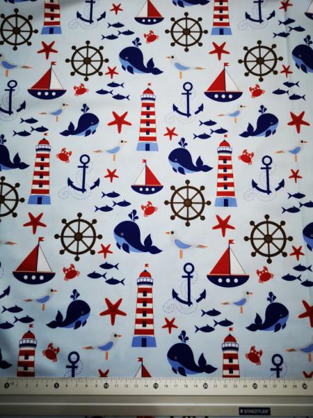 Ocean material PUL pentru scutece textile moderne
