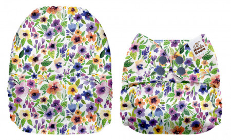 Réti virágok MamaKoala pelenka (széles nyílású zsebbel)