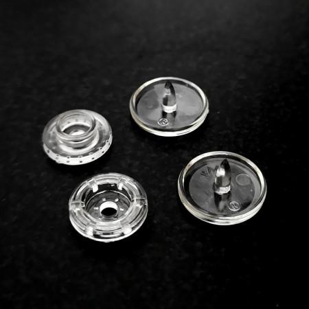 Set capse plastice transparenti T5 KAM