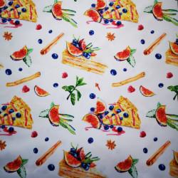 Placinta cu afine si smochine material PUL pentru scutece textile moderne