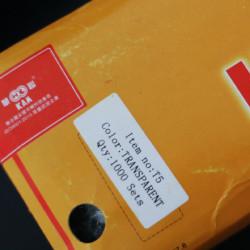 1.000db áttetsző T5 KAM patent szett