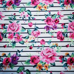 Illatos virágok PUL anyag modern mosható pelenka készítéséhez