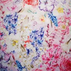 Zambile si narcise material PUL pentru scutece textile moderne