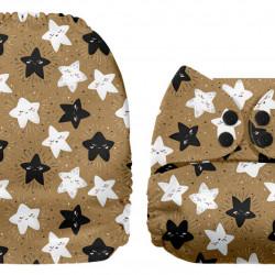 Csillagok MamaKoala pelenka (széles nyílású zsebbel)