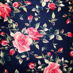 Rózsák PUL anyag modern mosható pelenka készítéséhez
