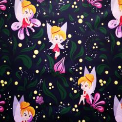 Tinker Bell material PUL pentru scutece textile moderne