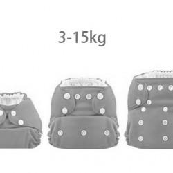 Karácsonyfadíszek Mama Koala pelenka (széles nyílású zsebbel + szatén szalaggal)
