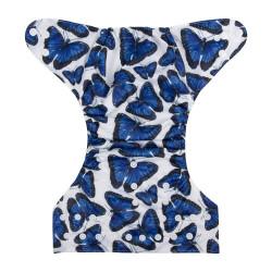Scutec cu fluturi albastri ALVABABY