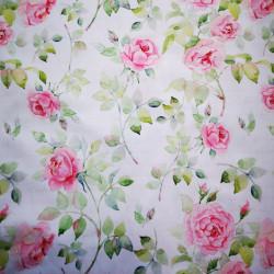Rózsa PUL anyag modern mosható pelenka készítéséhez