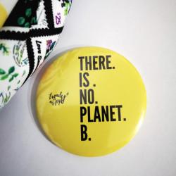 Feliratos hűtőmágnes - Nincs B bolygó