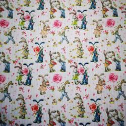 Iepuras material PUL pentru scutece textile moderne