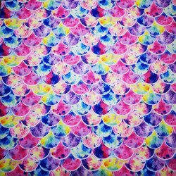 Rózsaszín pikkelyek PUL anyag modern mosható pelenka készítéséhez