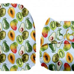 Exotikus gyümölcsök MamaKoala pelenka (széles nyílású zsebbel)