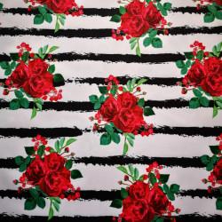 Trandafiri material PUL pentru scutece textile moderne