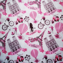 Paris material PUL pentru scutece textile moderne