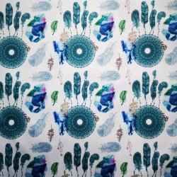 Boho chic PUL anyag modern mosható pelenka készítéséhez