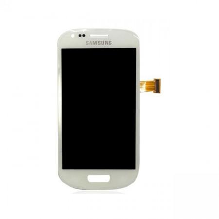 Poze Ansamblu display touchscreen Samsung S3 Mini i8190 alb