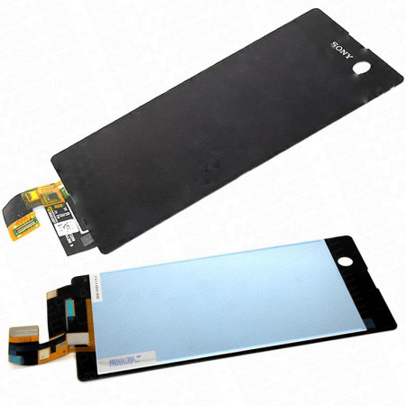 Display Sony M5 Aqua negru