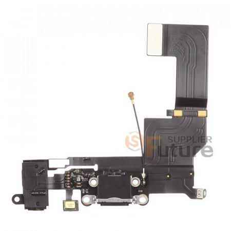 Poze Flex mufa incarcare iPhone SE negru