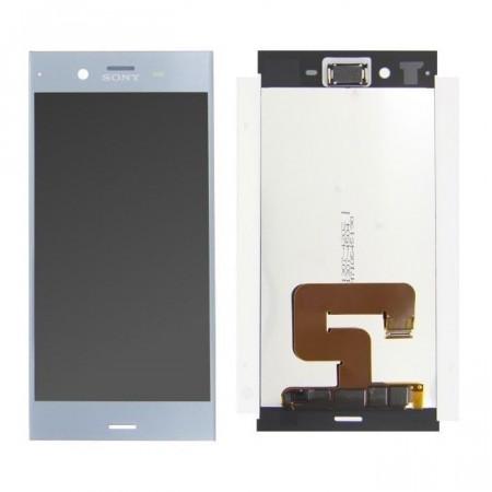Poze Ansamblu display touchscreen Sony Xperia XZ1 silver