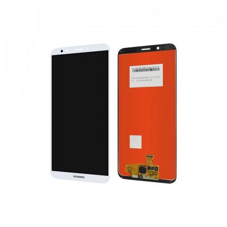 Poze Display Huawei Y7 Pro 2018 alb
