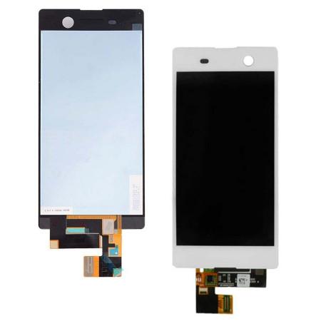 Display Sony M5 Aqua alb
