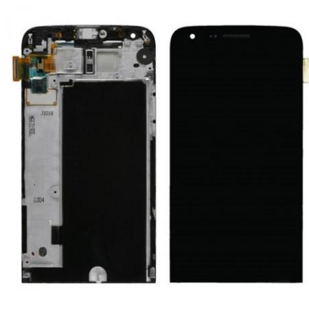 Display ecran lcd LG G5 Dual Sim H860 H83 H850 H840 negru cu rama